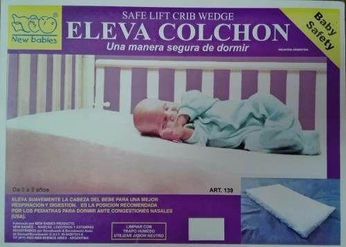 Almohada Almohadon Eleva Colchon Anti Reflujo Antireflujo - $ 350,00