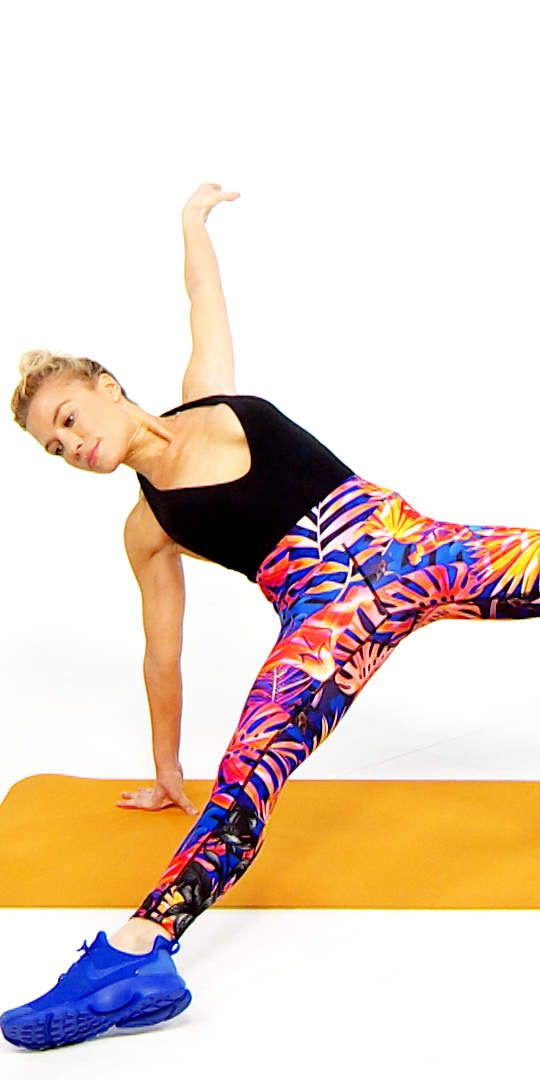 Tracy Anderson's Go-To Workout for Sculpted Abs in Minutes