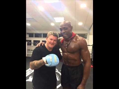 Frank Bruno returing to the ring with Ricky Hatton
