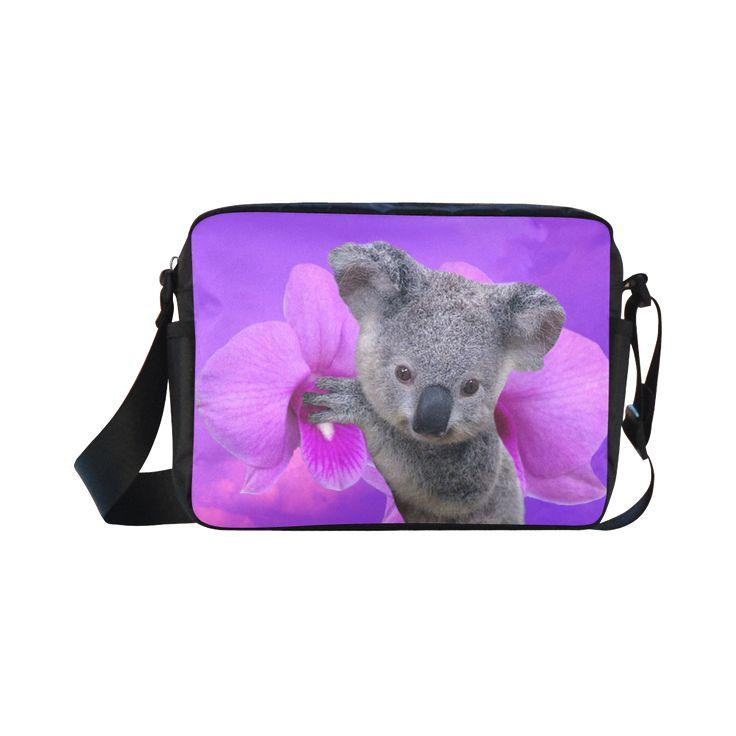Koala Classic Cross-body Nylon Bag. FREE Shipping. #artsadd #bags #koala