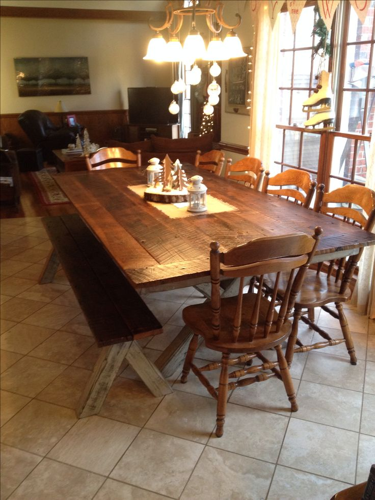 best 25+ barn wood tables ideas on pinterest | wood tables