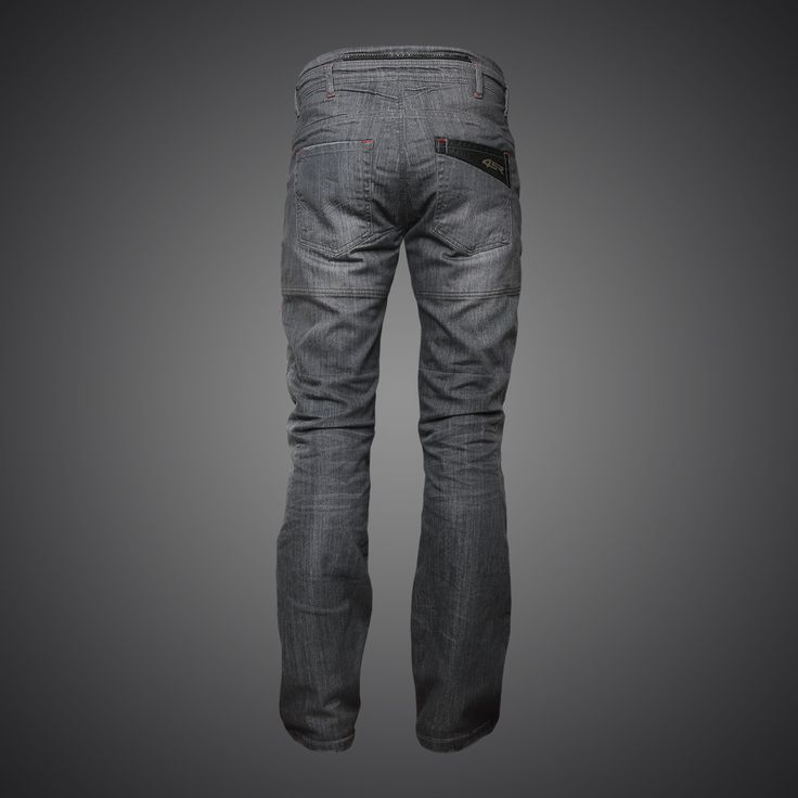 4SR Cool Grey motorcycle jeans
