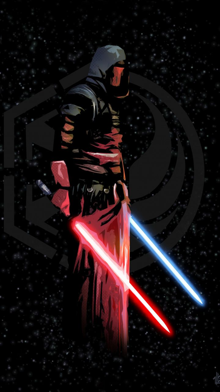 720x1280 Darth Revan Lighting Bars Star Wars Art Wallpaper Star Wars Wallpaper Star Wars Sith Star Wars The Old