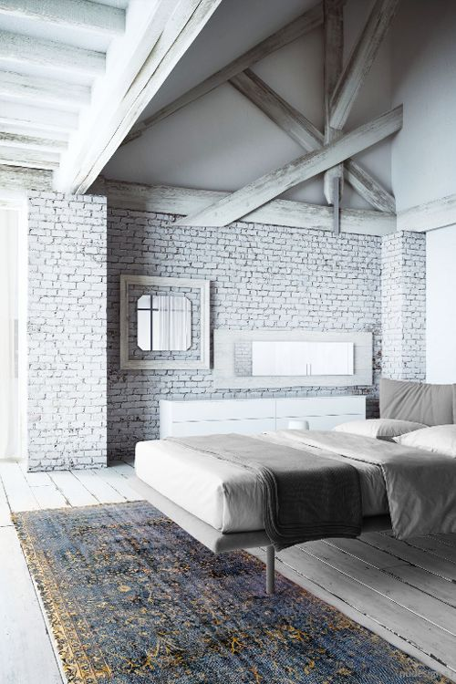4830 best images about home decor interior exterior for White exposed brick wall
