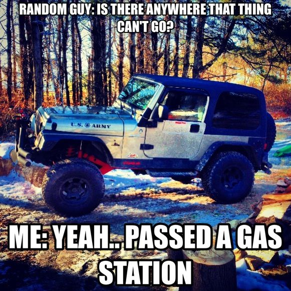 Jeep humor even though there's a grammar error....