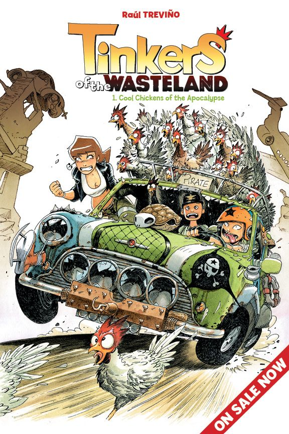 Tinkers of the Wasteland 1 of 3 Cover by raultrevino.deviantart.com on @deviantART