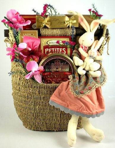 106 best baskets for gifting images on pinterest food gifts deluxe easter basket when you want the gift to outlast the delicious treats inside send a large handmade rope basket with a sturdy wood handle that will negle Choice Image