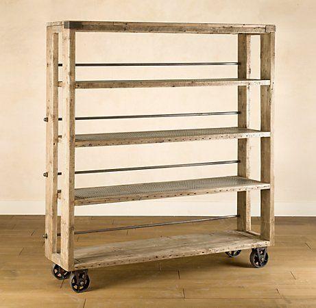 build a vintage looking tall cart - Restoration knockoff... tutorial! Fantastic!!!