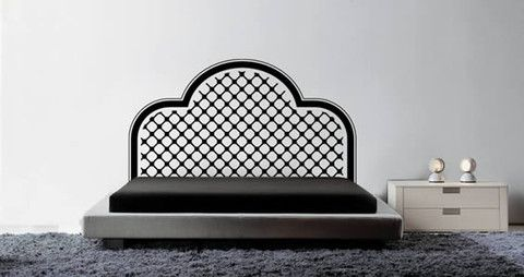 Affordable and timeless headboard for your bedroom.  Visit this link for more designs: https://limelight-vinyl.myshopify.com/