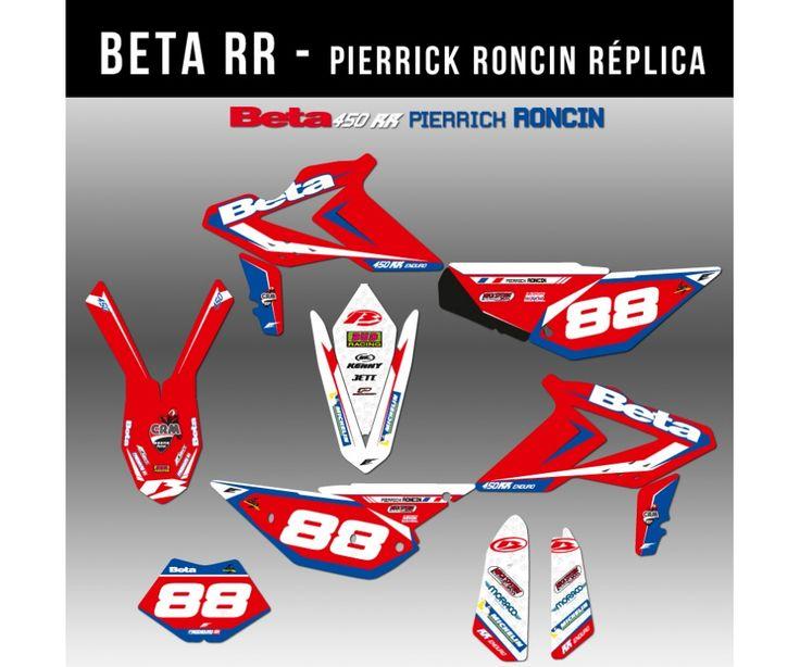 Kit déco Beta - Pierrick Roncin Réplica