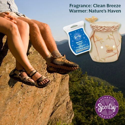 A hiking trip in the Clean Breeze might be the perfect honeymoon hideaway for you.  #scentsyhoneymoon
