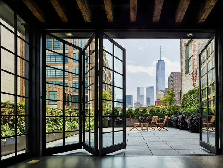 Tribeca Penthouse By ODA New York Architecture Interior DesignOutdoor