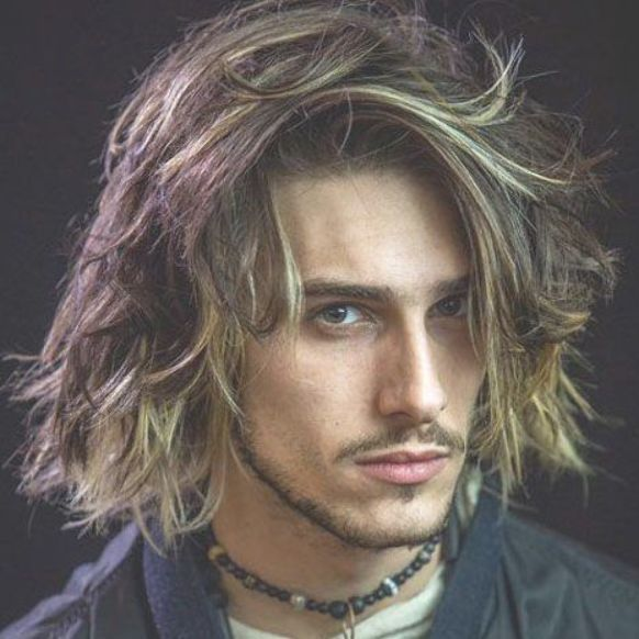Men S Messy Long Hair Best Messy Hairstyles For Men Cool Short Medium And Long Messy Hair For Guys Thick Hair Styles Messy Hairstyles Long Hair Styles Men