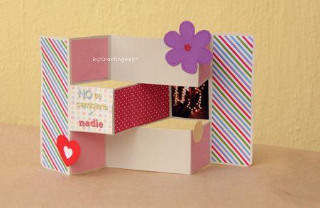 Hare esta tarjerta , para  alguien muy especial !!!!: Como Hacer Tarjeta, Craftingeek, Cards How To, Blog Trishutter Cards, Crafts Tutorials, Tarjeta Trishutt, The Card, Scrapbook, Crafts