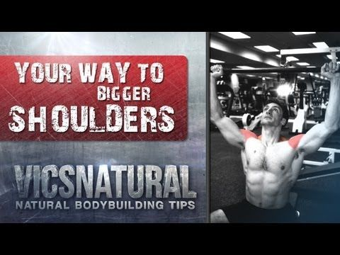 Best shoulder workout Best shoulder Exercise How to Get Big Shoulders with Victor Costa Vicsnatural -    Best shoulder workout routine Best shoulder workouts bodybuilding program with Victor Costa Vicsnatural Try this great shoulder workout from one of the top trainers in the world. My goals is to help you get bigger and more muscular, naturally, using intelligent techniques that work. On my website http://www.vicsnatural.com I offer dvds and audios that you can take to the g