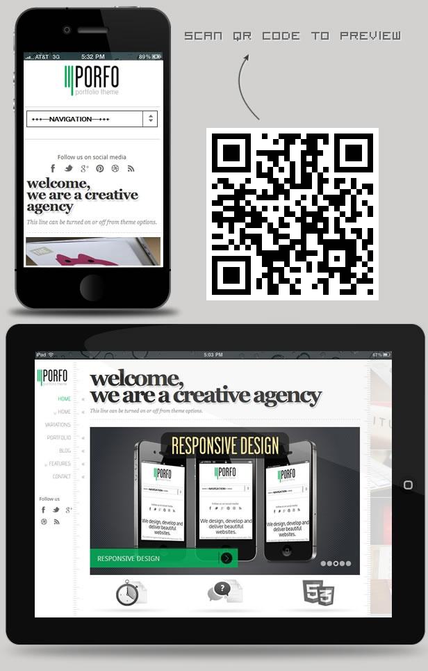 WordPress - Porfo - Responsive Portfolio Wordpress Theme | ThemeForest
