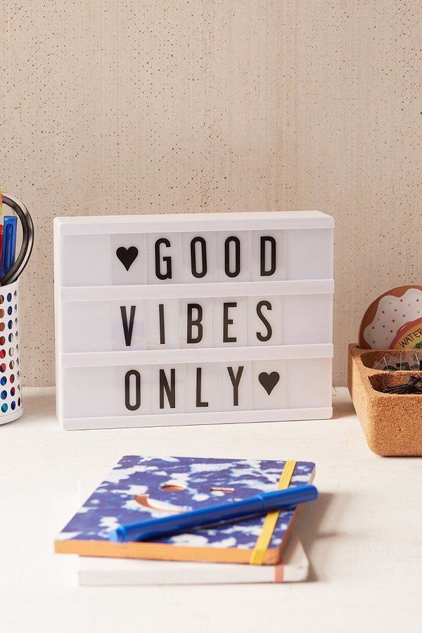 Surround yourself with positive vibes