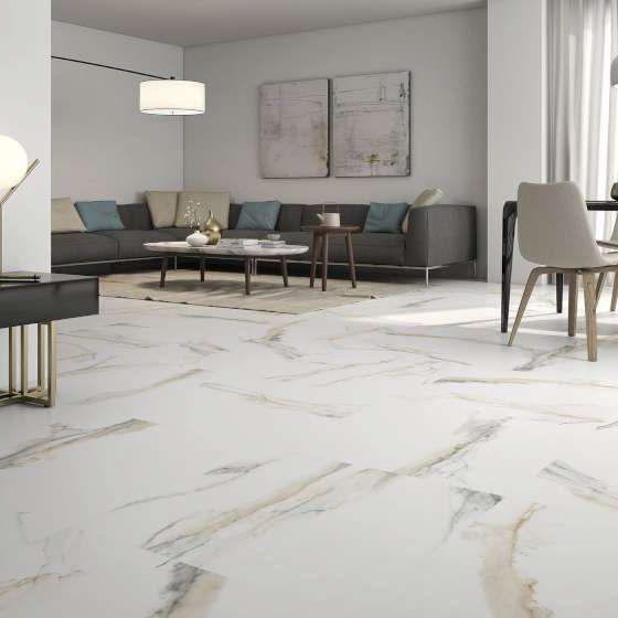 Atlantis Gold Scene 2 Tile Floor Living Room Floor And Wall Tile Wall And Floor Tiles #stone #floor #for #living #room