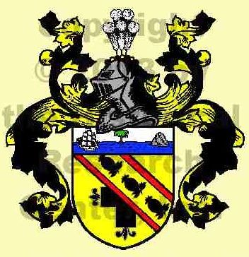 """Nelson Coat of Arms and History : The Danish surname Nelson is patronymic in origin, being derived from the first name of a father. In this case, Nelson is associated with the personal name """"Nel"""" and the surname simply denotes """"a son of Nel"""". Nel is in fact an Old Irish personal name more frequently found in the form """"Niall"""" and both are derived from the Gaelic word """"nia"""", meaning, literally, """"champion""""."""