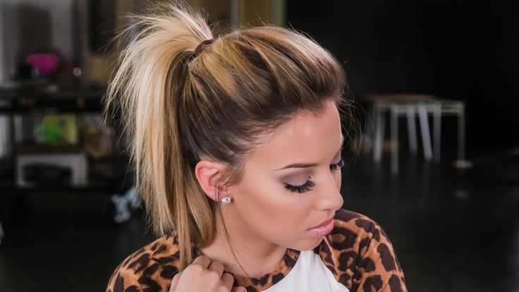 How to: The Perfect Ponytail!  ((Really neat technique for getting that perfect volume to a ponytail! Plus products used)).