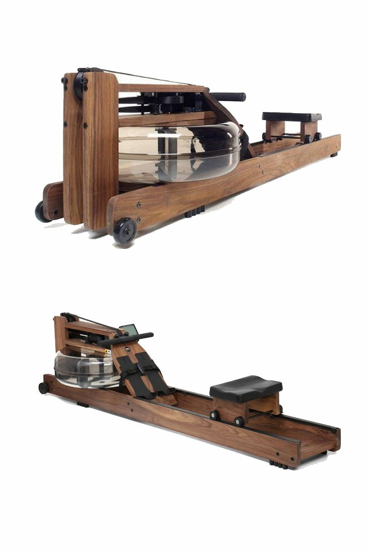 WaterRower Classic - House of Cards model. Old style workout equipment.