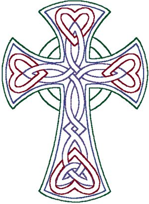 PATTERN CELTIC CROSS | Cross Stitch