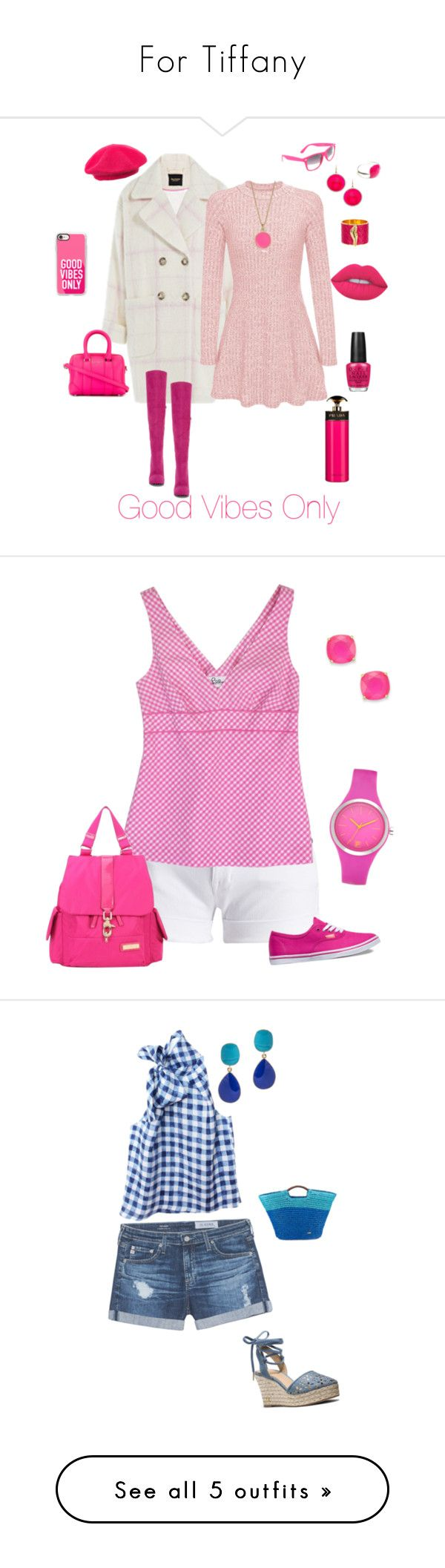 """""""For Tiffany"""" by michelechambers ❤ liked on Polyvore featuring Juicy Couture, Kate Spade, Madison Precious Jewels, Diane Von Furstenberg, Les Rêveries d'Eve, Givenchy, Two Lips, SWG, Ashley Stewart and Casetify"""