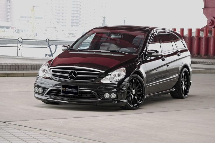 Big rims on mercedes benz r350 mercedes r class by wald for Mercedes benz r