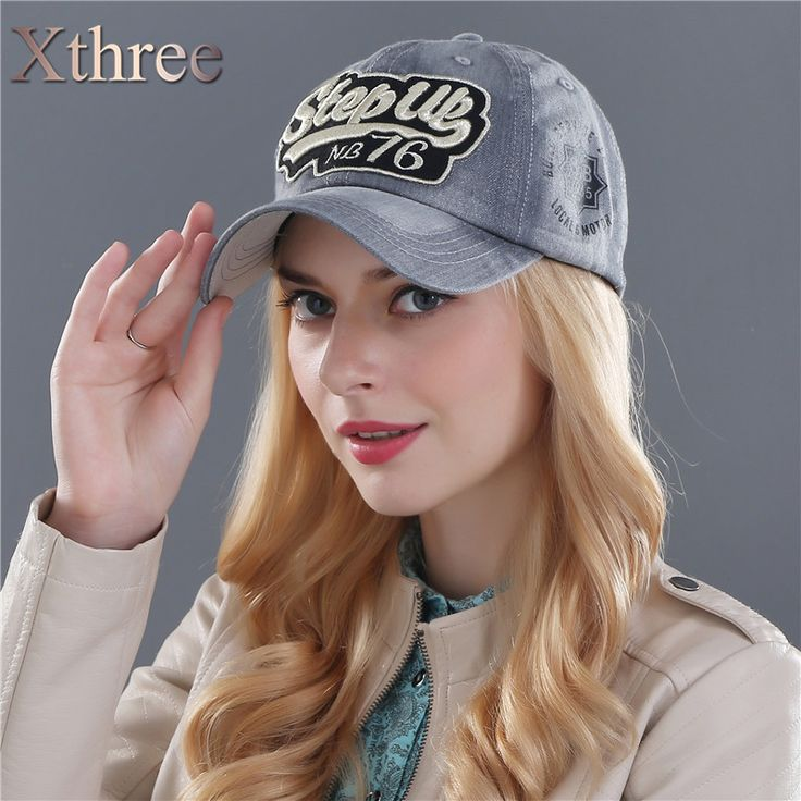 Xthree ritzy jeans baseball caps fashion snapback cap outdoor sport  cap hat for men and women hat gorras casquette