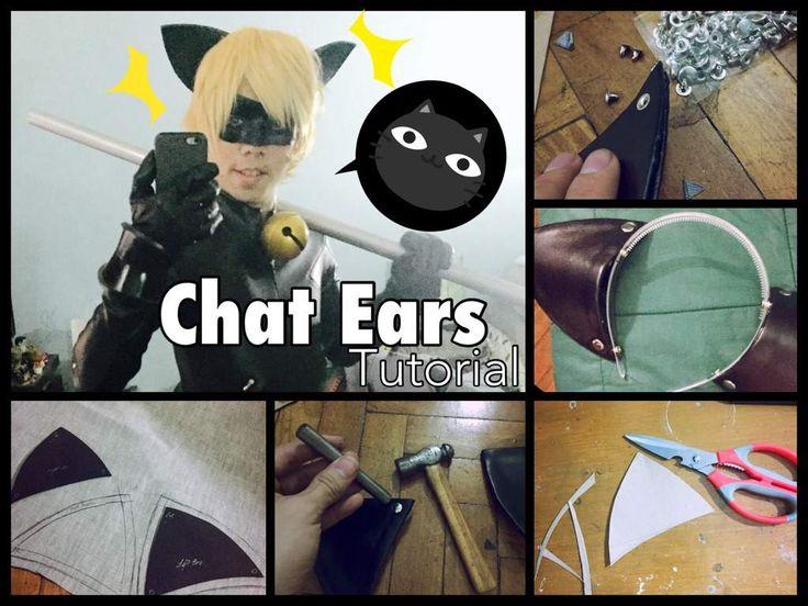 Chat Noir Ears - Tutorial | Cosplay Amino