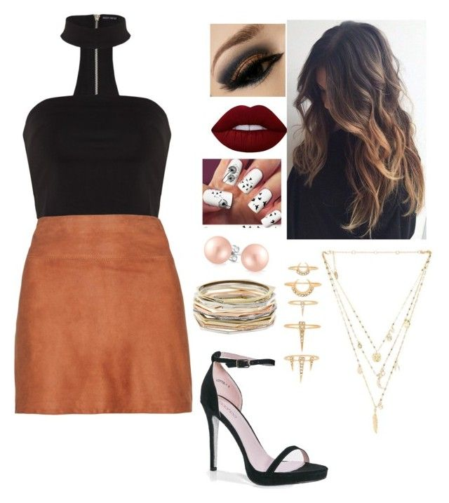 """""""Untitled #67"""" by bubblegumprincess831 on Polyvore featuring Alice + Olivia, Boohoo, Lime Crime, Ettika, Kendra Scott, Luv Aj and Bling Jewelry"""