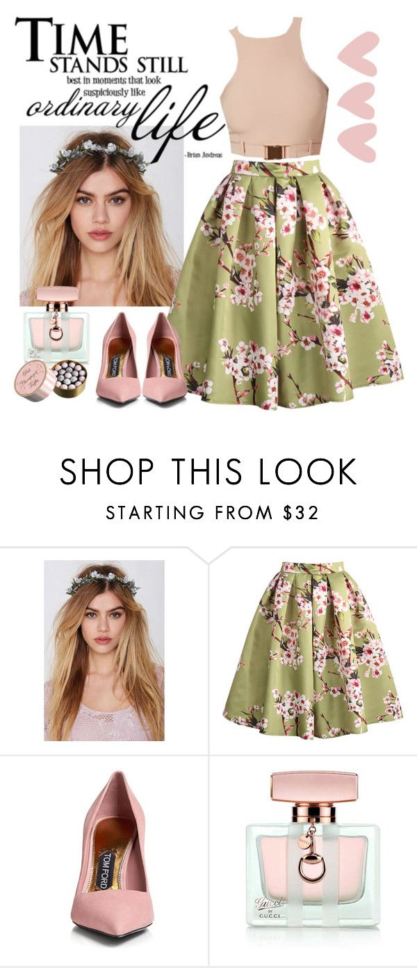 """""""International Workers' Day"""" by julijana-k ❤ liked on Polyvore featuring Gardenhead, Tom Ford, Gucci, women's clothing, women's fashion, women, female, woman, misses and juniors"""