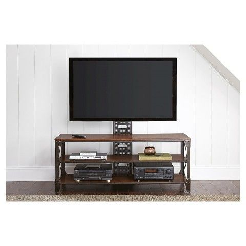 "Henri TV Stand with Mount 60"" - Steve Silver Co."