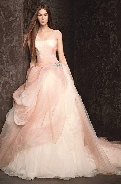 Vera wang pink wedding dress i 39 m saying yes to the dress for Pink vera wang wedding dresses