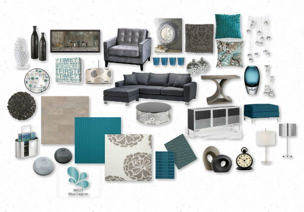 Doing this color combo in the living room, can't wait!