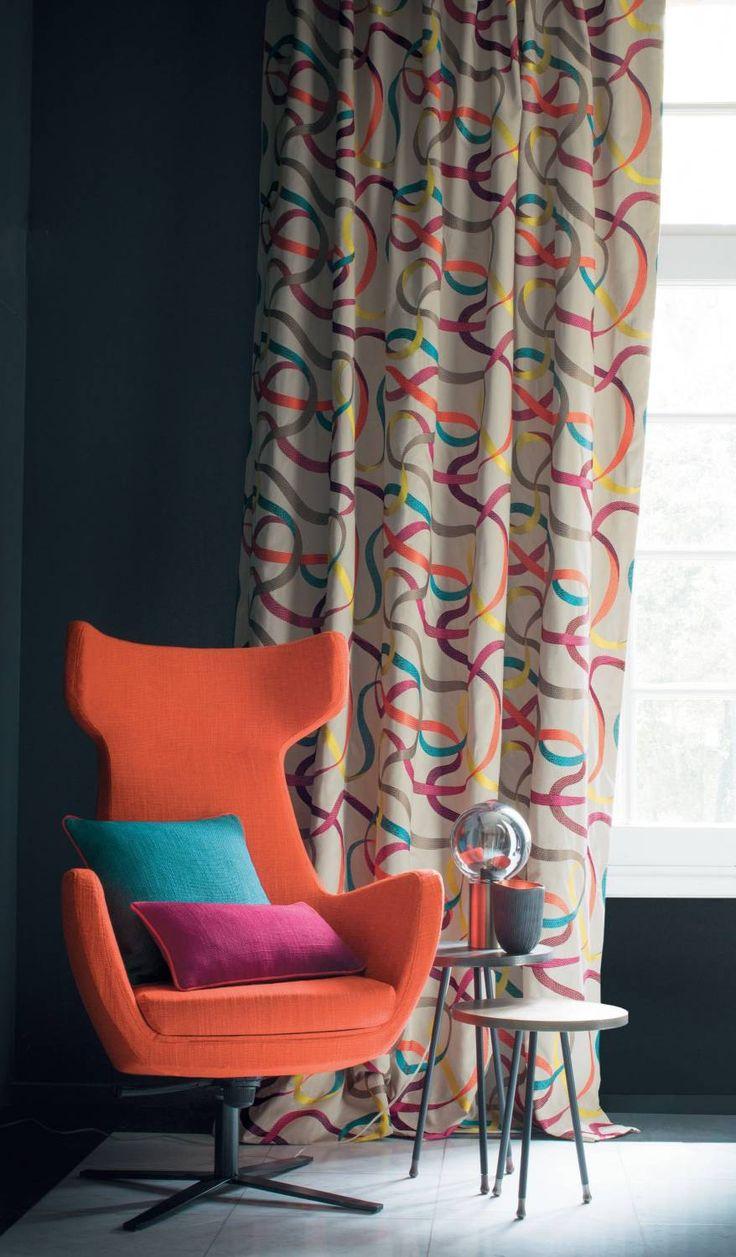 Impulsion Casamance Curtain DesignsWindow 12