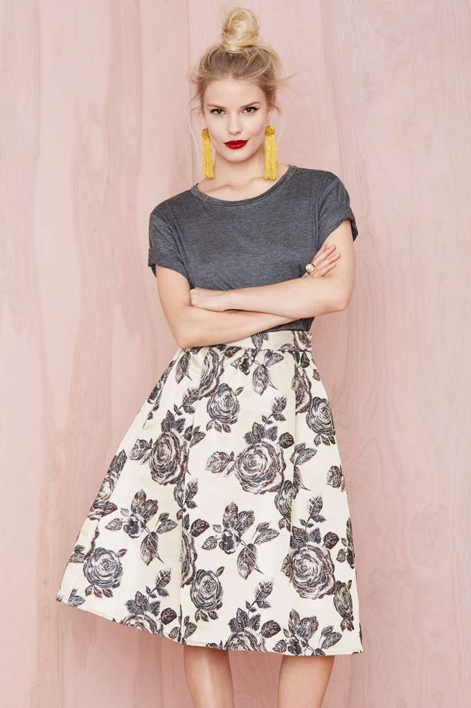Heavy Petal Skirt | Shop Skirts at Nasty Gal