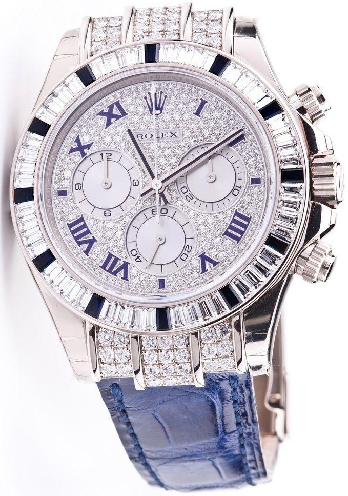 Rolex Cosmograph Daytona 116599 12sa White Gold Diamond Bezel 12