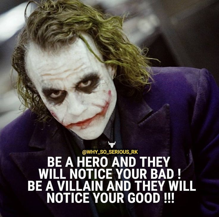 Suggested by one of my follower. For more Motivational and Realistic Quotes  Follow  @why_so_serious_rk Follow  @why_so_serious_rk Follow  @why_so_serious_rk ________________________________________________ ________________________________________________  Turn on POST NOTIFICATION  ________________________________________________ ________________________________________________ . . . #Heathledger #joker #jaredleto #margotrobbie #benaffleck  #meganfox #emmawatson #dc #thejoker  #dccomics…