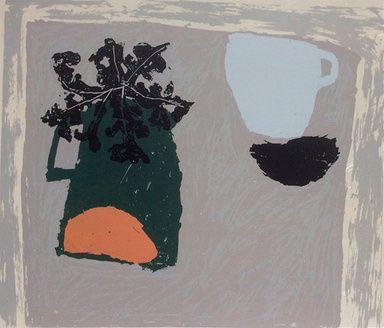 Green Jug by Rosemary Vanns