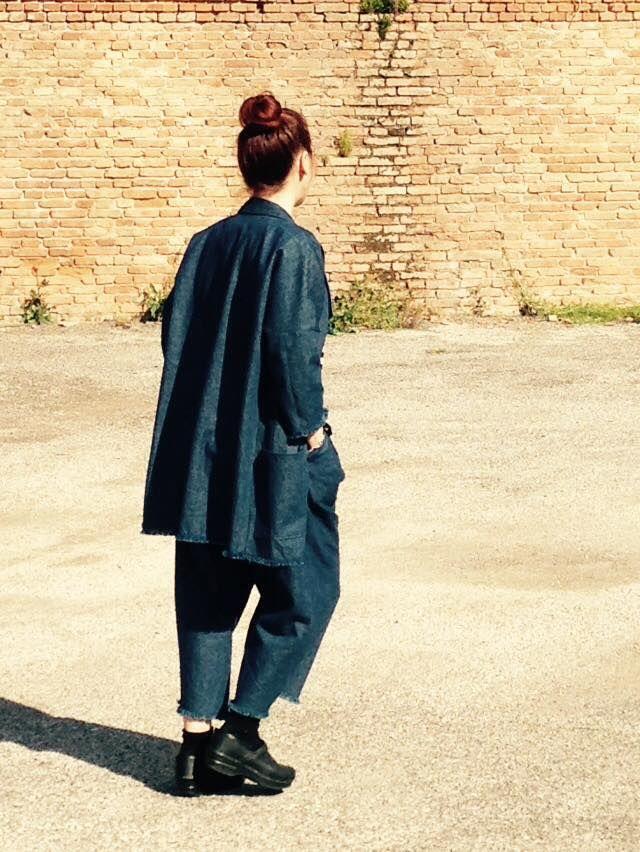 Total denim by ma va' collection + Berto Industria Tessile  #mavacollection #BertoDenim