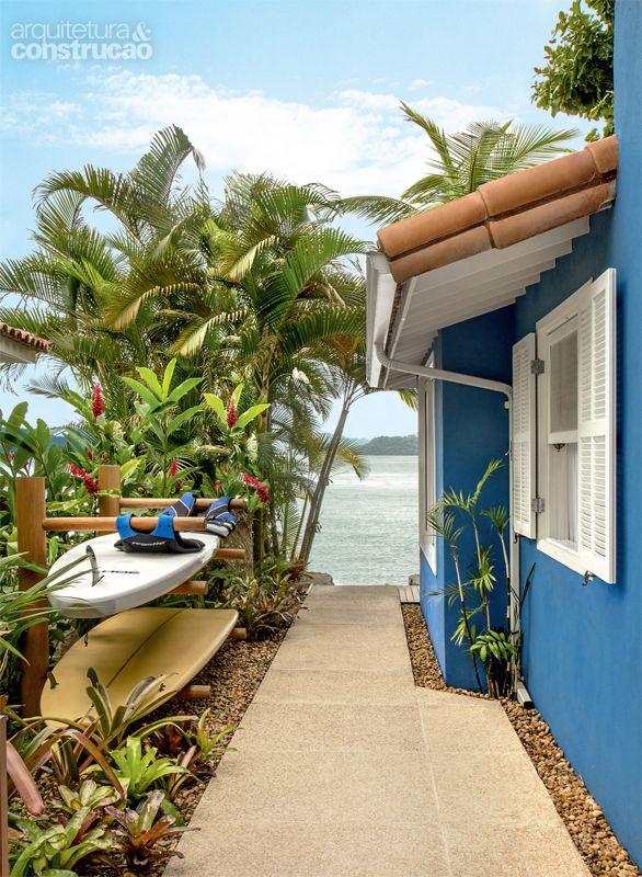 Pé na areia: casa em frente ao mar de Angra dos Reis - Casa