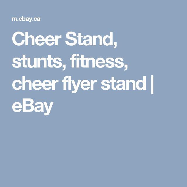 Cheer Stand, stunts, fitness, cheer flyer stand   | eBay