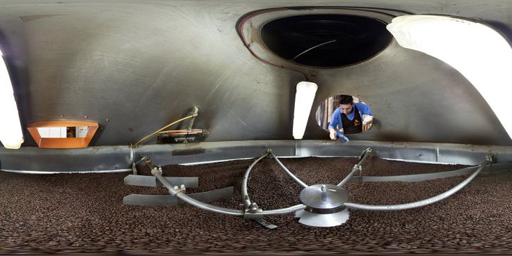 Inside the coffee cooler (Greece) by Dimitris Kolios. https://www.360cities.net/image/inside-the-coffe-cooler-athens#-1756.81,24.79,110.0