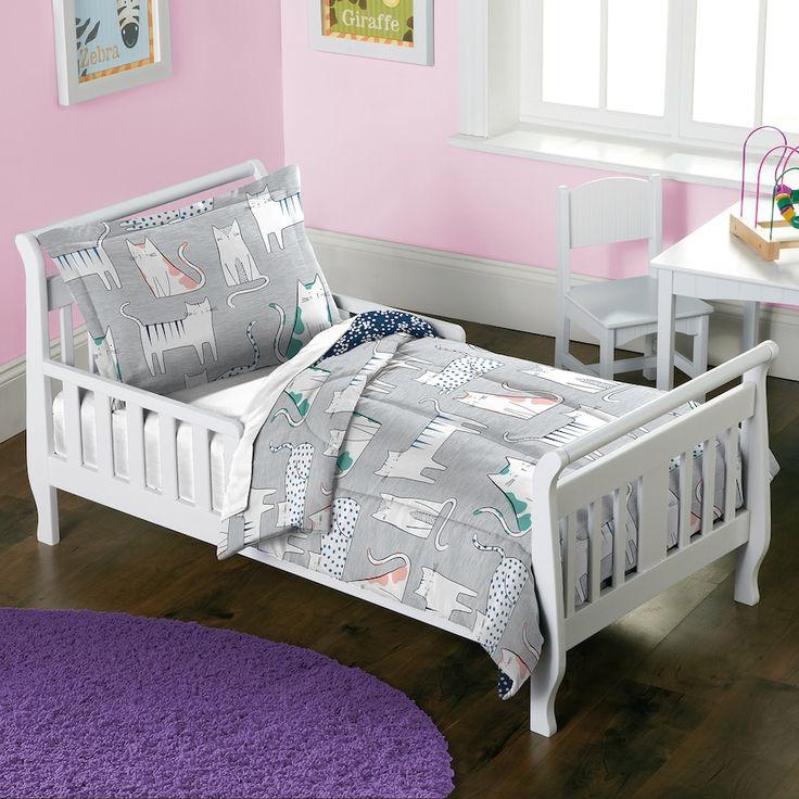 Toddler Dream Factory Purrfect Cat 2-piece Comforter Set ...