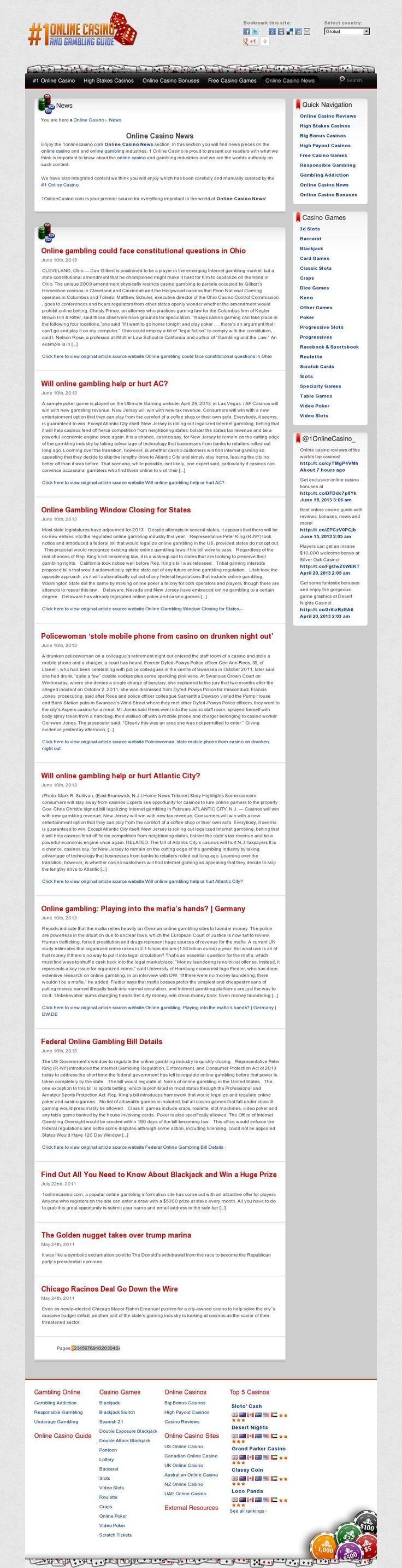 Новости в онлайн казино Multi Gaminator Club