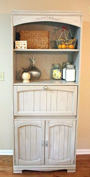 chalk paint pantry cabinet thrift transformation, chalk paint, painted furniture, repurposing upcycling