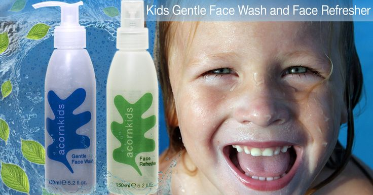 Kids Face Wash and Refresher: Perfect skincare solution for kids,enriched with botanicals and marines. Read my mommy blog at http://www.acornkids.com/blog.aspx  Click here http://goo.gl/Da1Hh6 for our face wash and here http://goo.gl/CO2N7J for the refresher!