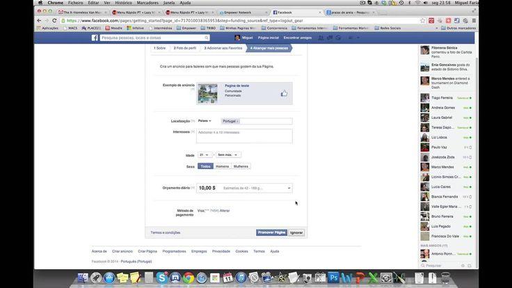 Como criar pagina de fas no Facebook  [VIDEO] Sabes criar uma pagina no #facebook???? Não há problema, fiz um video onde explico como podes criar a tua pagina do facebook para os teus amigos gostarem e acompanharem tudo o que colocas na tua página, é uma forma muito engraçada de interagir com os teus amigos e mostrar os teus interesses no facebook. Para veres o video explicativo entra aqui: http://youtu.be/MXoK0YMdAmk