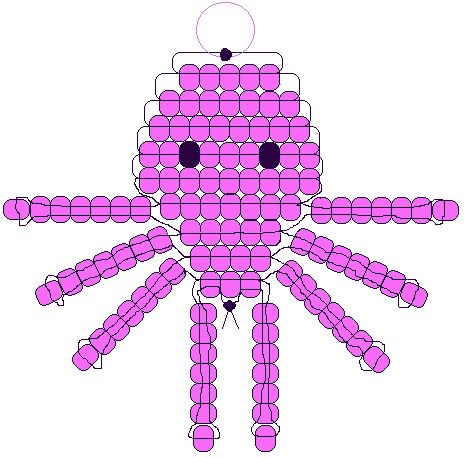 Pony Bead Pattern | Animal Pony Bead Patterns http://beadiecritters.com/patternpages ...